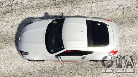 GTA 5 Nissan 370Z Nismo Z34 2016 [replace] back view