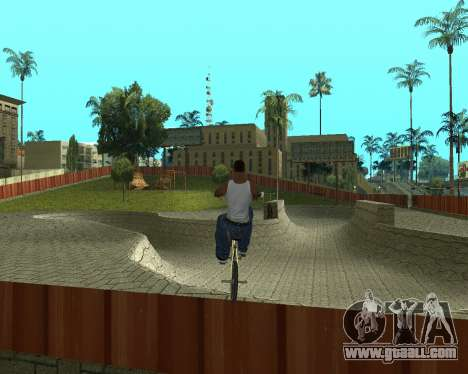 New HD Glen Park for GTA San Andreas second screenshot