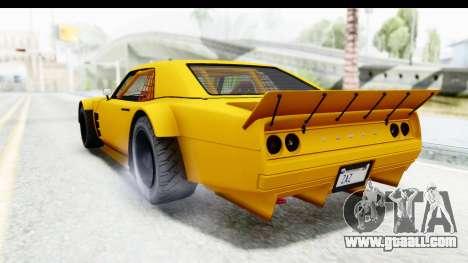 GTA 5 Declasse Drift Tampa for GTA San Andreas left view