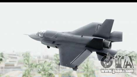 Lockheed Martin F-35B Lightning II for GTA San Andreas right view