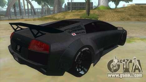 Lamborghini Liberty Walk for GTA San Andreas right view
