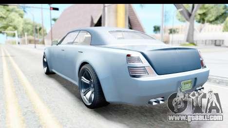GTA 5 Enus Windsor Drop IVF for GTA San Andreas left view