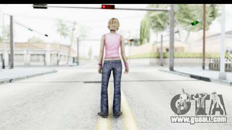 Silent Hill 3 - Heather Sporty Light Pink HK for GTA San Andreas third screenshot