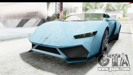 GTA 5 Pegassi Reaper v2 SA Lights for GTA San Andreas