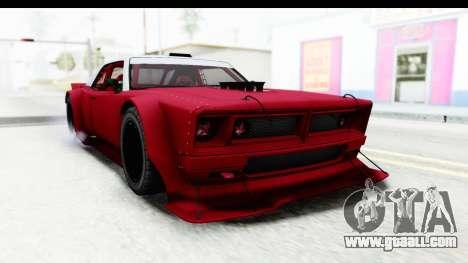 GTA 5 Declasse Drift Tampa IVF for GTA San Andreas back left view
