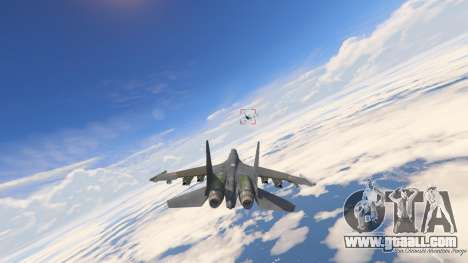 GTA 5 Su-30МКК HQ Chinese seventh screenshot