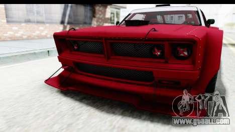 GTA 5 Declasse Drift Tampa IVF for GTA San Andreas bottom view