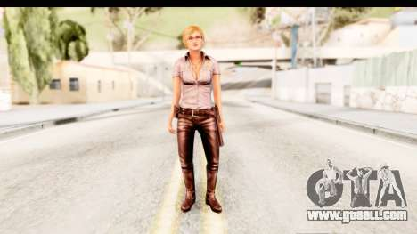 Silent Hill Shattered Memories - Cybil for GTA San Andreas second screenshot