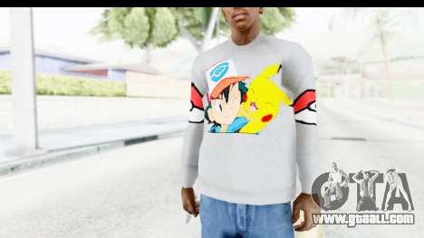 Sweat Pokemon Go Pikachu for GTA San Andreas