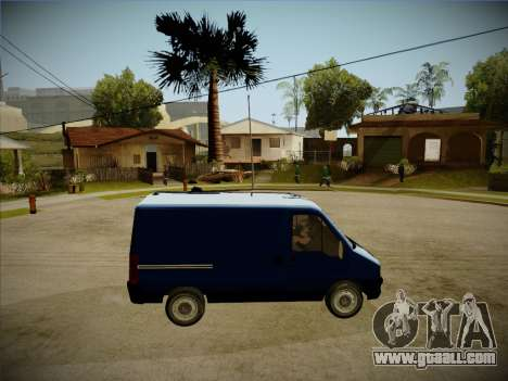 Fiat Ducato 2010 for GTA San Andreas back view