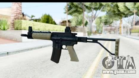 LR-300 Tan for GTA San Andreas second screenshot