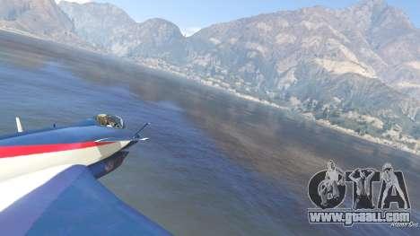 GTA 5 J-10A SY Aerobatic Team fifth screenshot