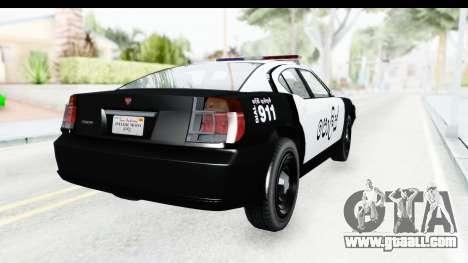 Sri Lanka Police Car v2 for GTA San Andreas left view