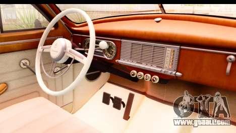 Packard Standart Eight 1948 Touring Sedan for GTA San Andreas inner view