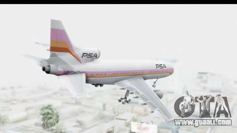Lockheed L-1011-100 TriStar Pacific Southwest for GTA San Andreas right view