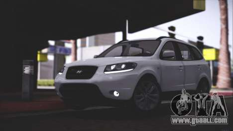 Hyundai Santa Fe Stock for GTA San Andreas back left view