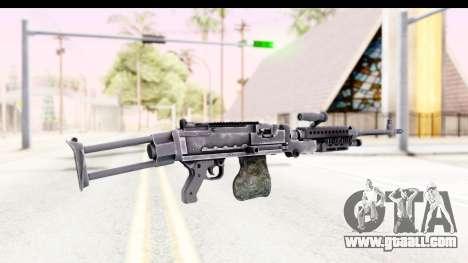 M240 FSK No Attachments for GTA San Andreas second screenshot