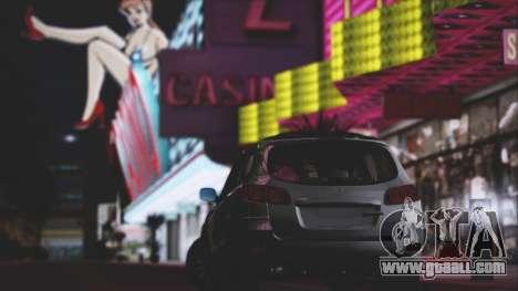 Hyundai Santa Fe Stock for GTA San Andreas inner view