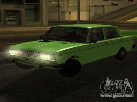 VAZ 2106 for GVR for GTA San Andreas