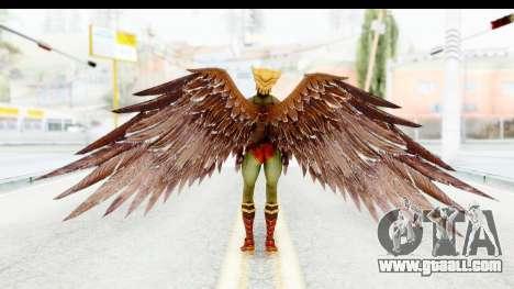 Injustice God Among Us - Hawk Girl for GTA San Andreas third screenshot