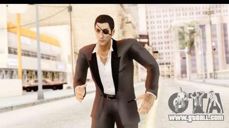 Yakuza 0 Goro Majima for GTA San Andreas