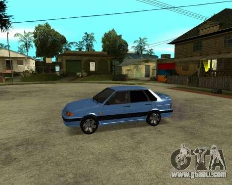 VAZ 21015 ARMENIAN for GTA San Andreas inner view