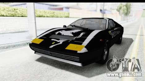 Ferrari 512 GT4 BB 1976 for GTA San Andreas interior