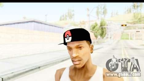 Cap Pokemon Pokeball for GTA San Andreas second screenshot