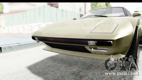 GTA 5 Lampadati Tropos Rallye IVF for GTA San Andreas inner view