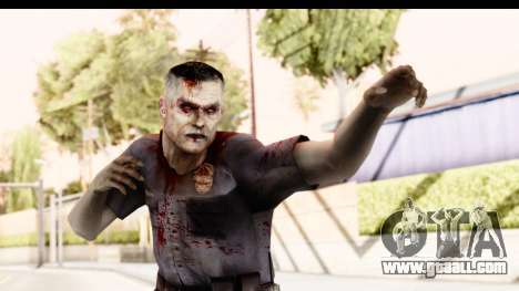 Left 4 Dead 2 - Zombie Policeman for GTA San Andreas