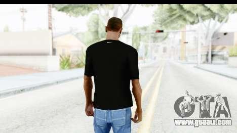 Nike MVP T-Shirt for GTA San Andreas third screenshot
