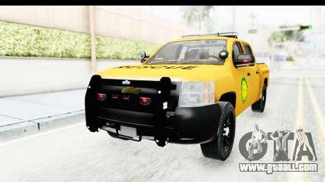 Chevrolet Silvedaro Basarnas for GTA San Andreas