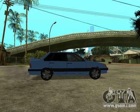 VAZ 21015 ARMENIAN for GTA San Andreas back left view