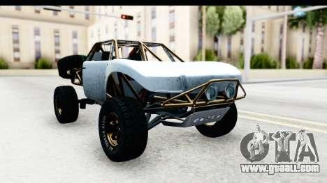 GTA 5 Trophy Truck SA Lights PJ for GTA San Andreas