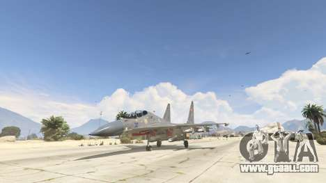 Su-30МКК HQ Chinese for GTA 5