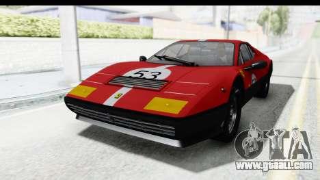 Ferrari 512 GT4 BB 1976 for GTA San Andreas upper view