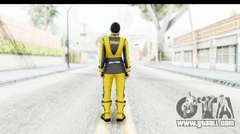 GTA 5 DLC Cunning Stuns Female Skin for GTA San Andreas third screenshot