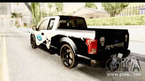 Ford F-150 Tuning for GTA San Andreas left view