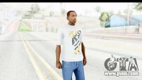 Nike Kyrie Notebook T-Shirt for GTA San Andreas second screenshot