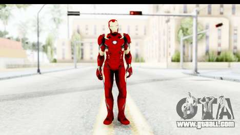 Marvel Heroes - Ironman Mk46 for GTA San Andreas second screenshot