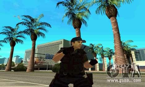 Trainer SWAT for GTA San Andreas fifth screenshot