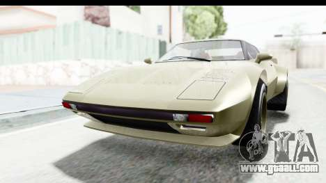 GTA 5 Lampadati Tropos Rallye IVF for GTA San Andreas