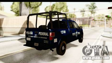 Ford F-150 Federal Police for GTA San Andreas right view