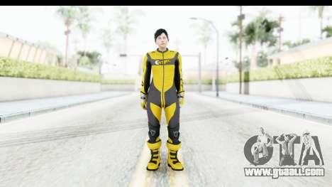 GTA 5 DLC Cunning Stuns Female Skin for GTA San Andreas second screenshot