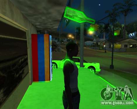 New automatic Hay-Cola and Armenian Flag for GTA San Andreas second screenshot