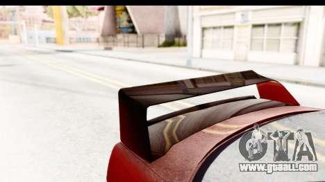BMW M3 E36 Spermatozoid Edition for GTA San Andreas side view