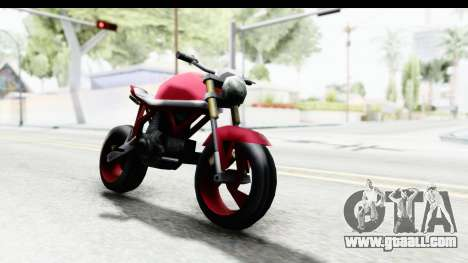 Custom Stunt FCR9000 for GTA San Andreas