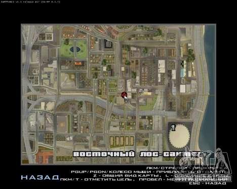 Grove Street Armenian Flag for GTA San Andreas fifth screenshot