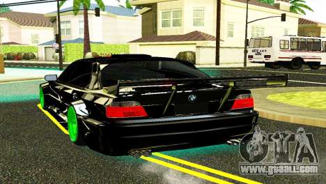 BMW 750 E38 Hamann Turbo Sports for GTA San Andreas left view