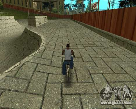 New HD Glen Park for GTA San Andreas fifth screenshot